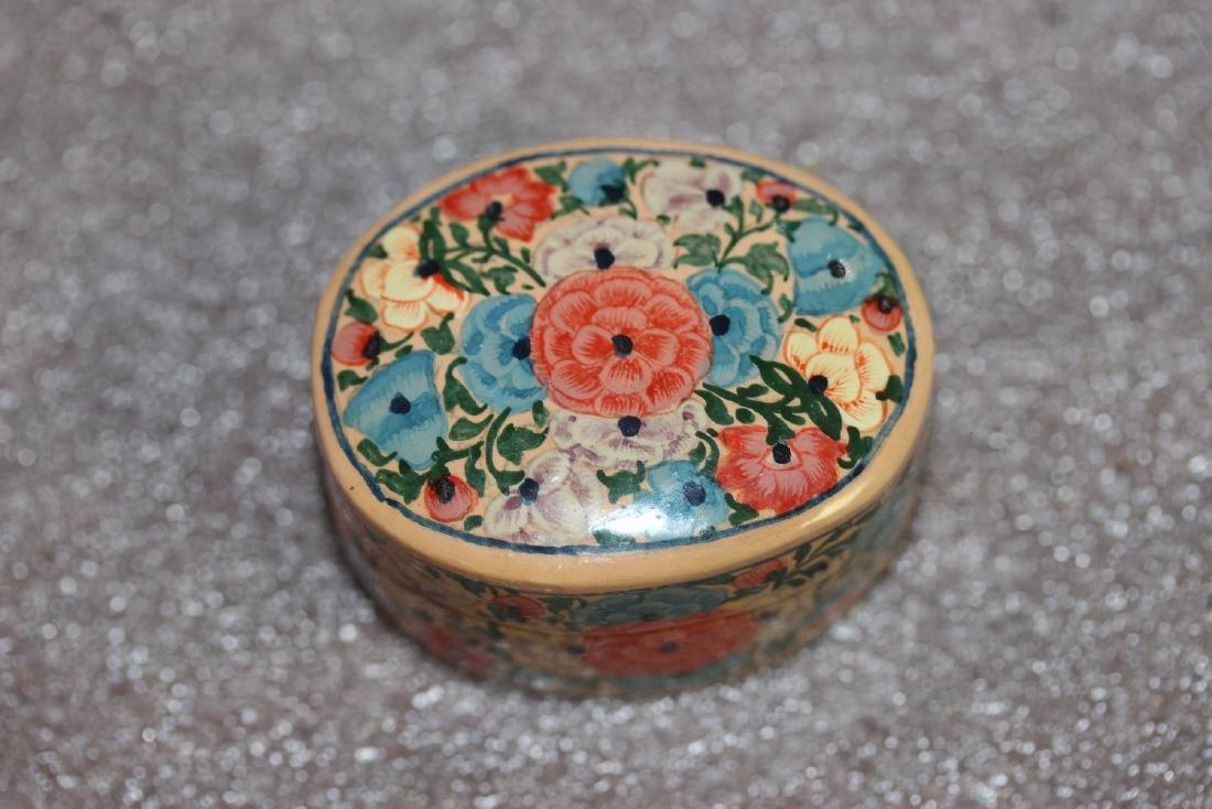 A Carol Sax Design Lacquer Trinket Box