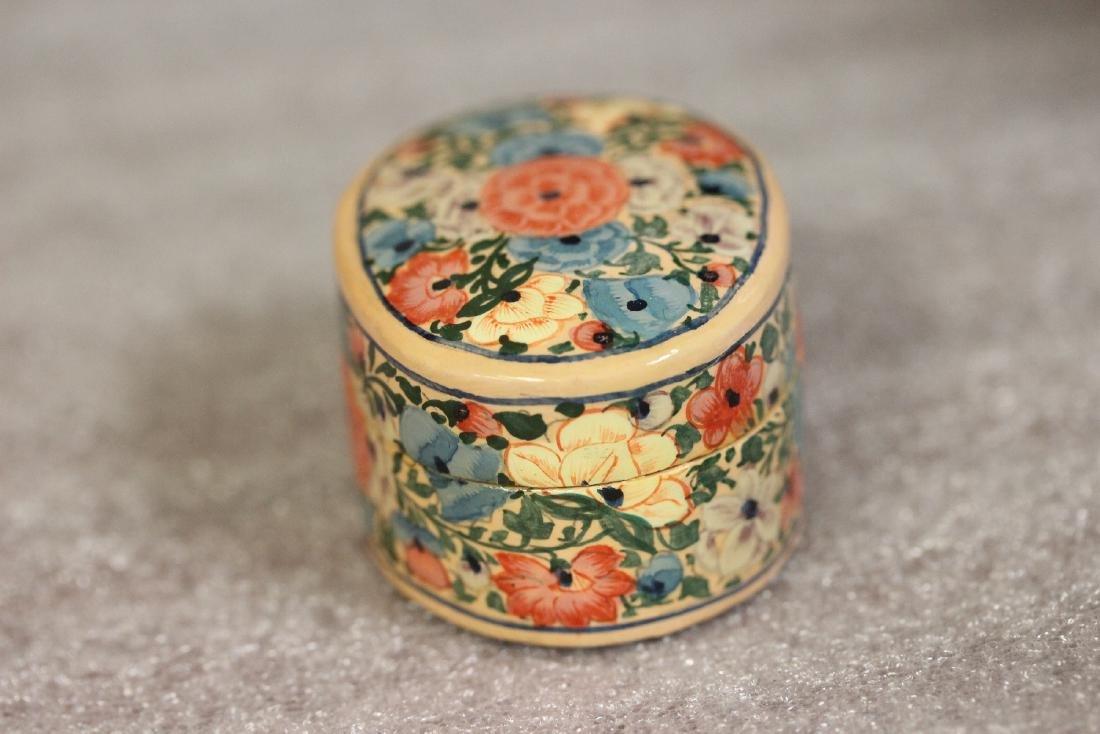 A Carol Sax Design Lacquer Trinket Box - 3