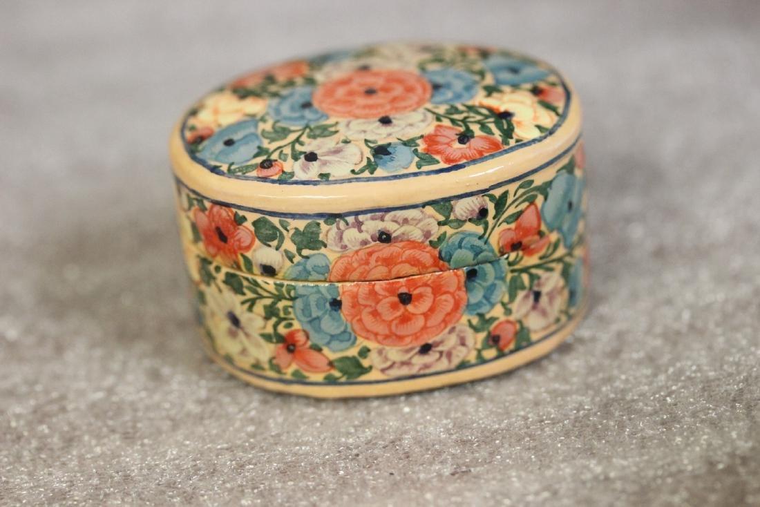 A Carol Sax Design Lacquer Trinket Box - 4