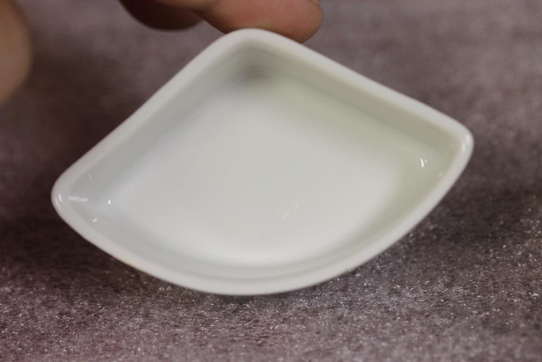 A Fan Shape Lefton Trinket Box - 5