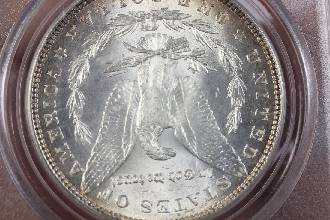 A Graded 1886 Morgan Silver Dollar - 4