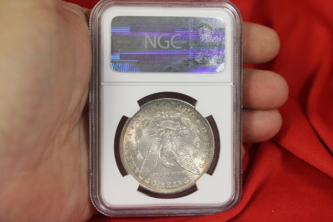 A Graded 1886 Morgan Silver Dollar - 2