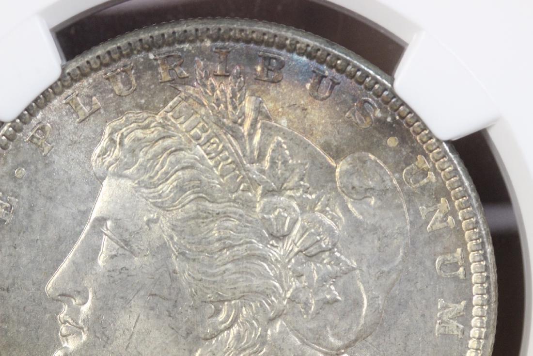 A Graded 1886 Morgan Silver Dollar - 8