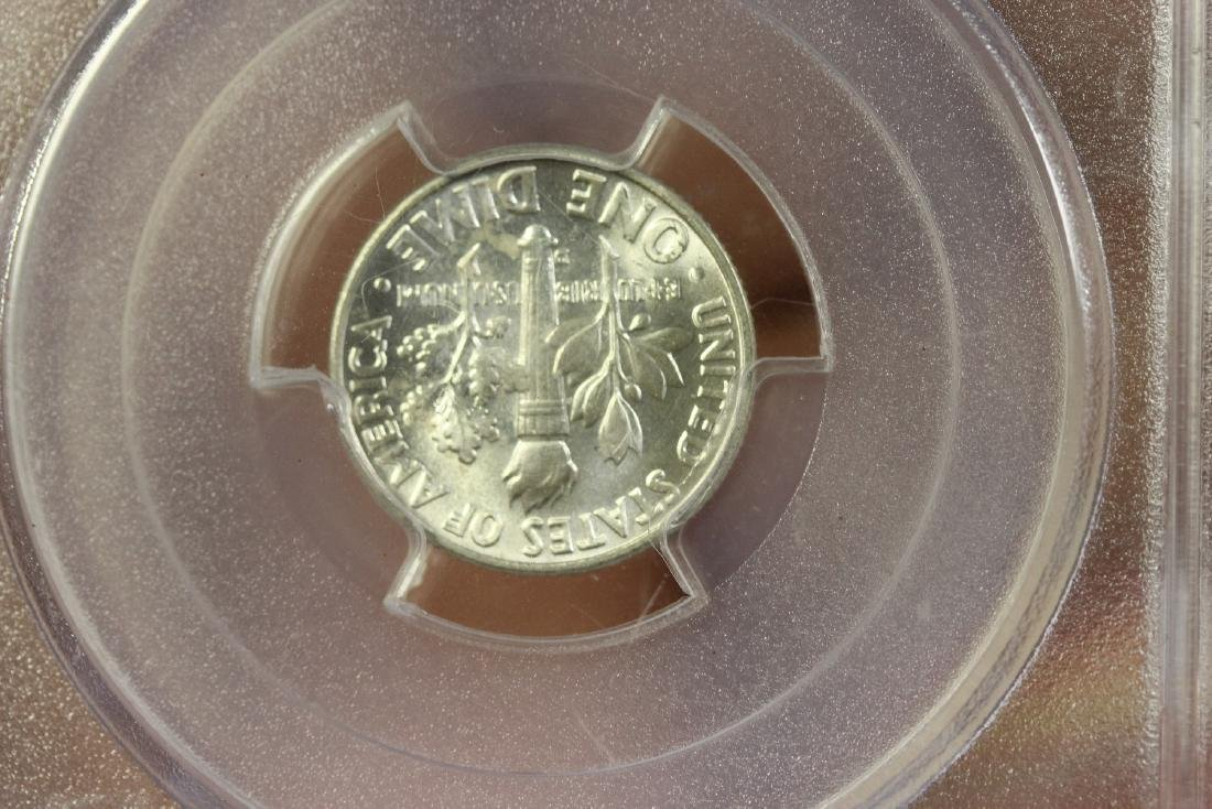A Graded 1959-D Roosevelt 10 cents - 4