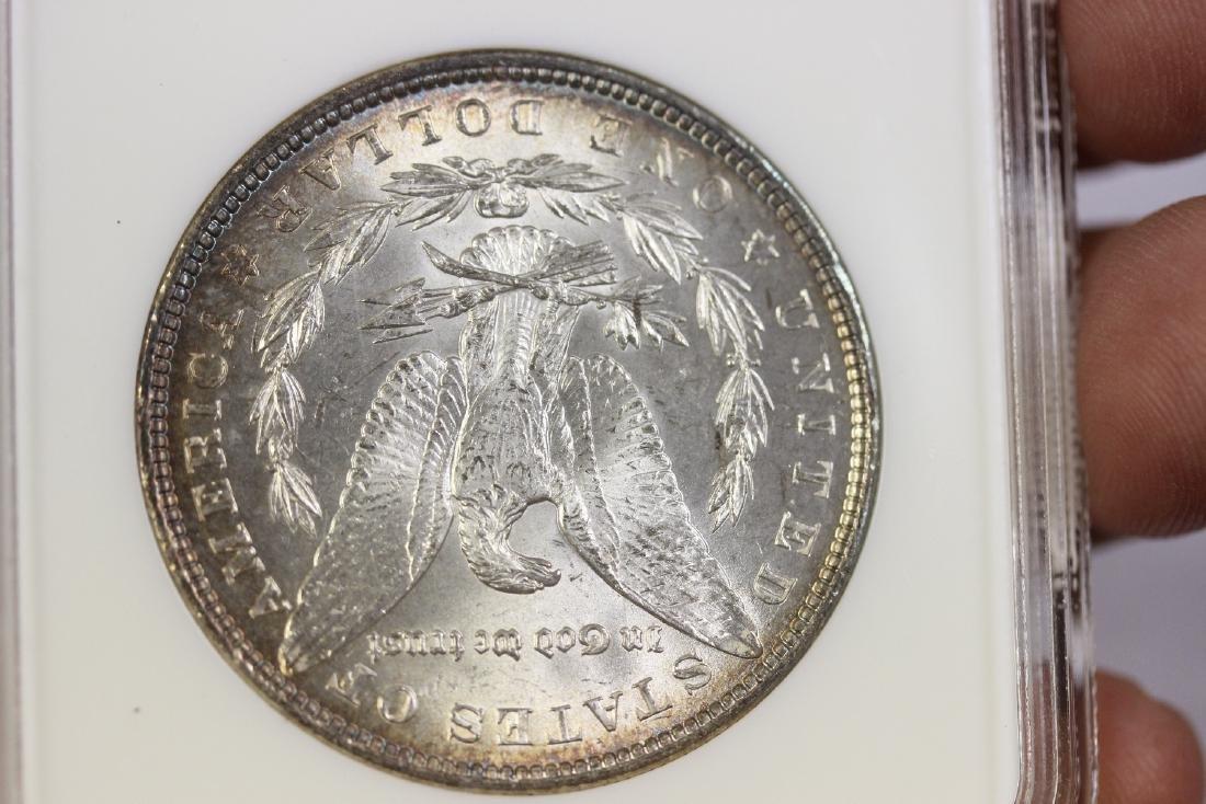 A Graded 1887 Morgan Silver Dollar - 4