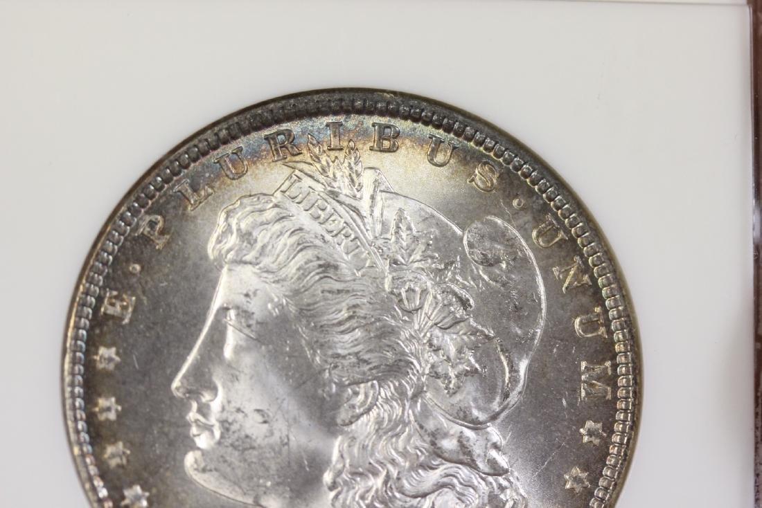 A Graded 1887 Morgan Silver Dollar - 7