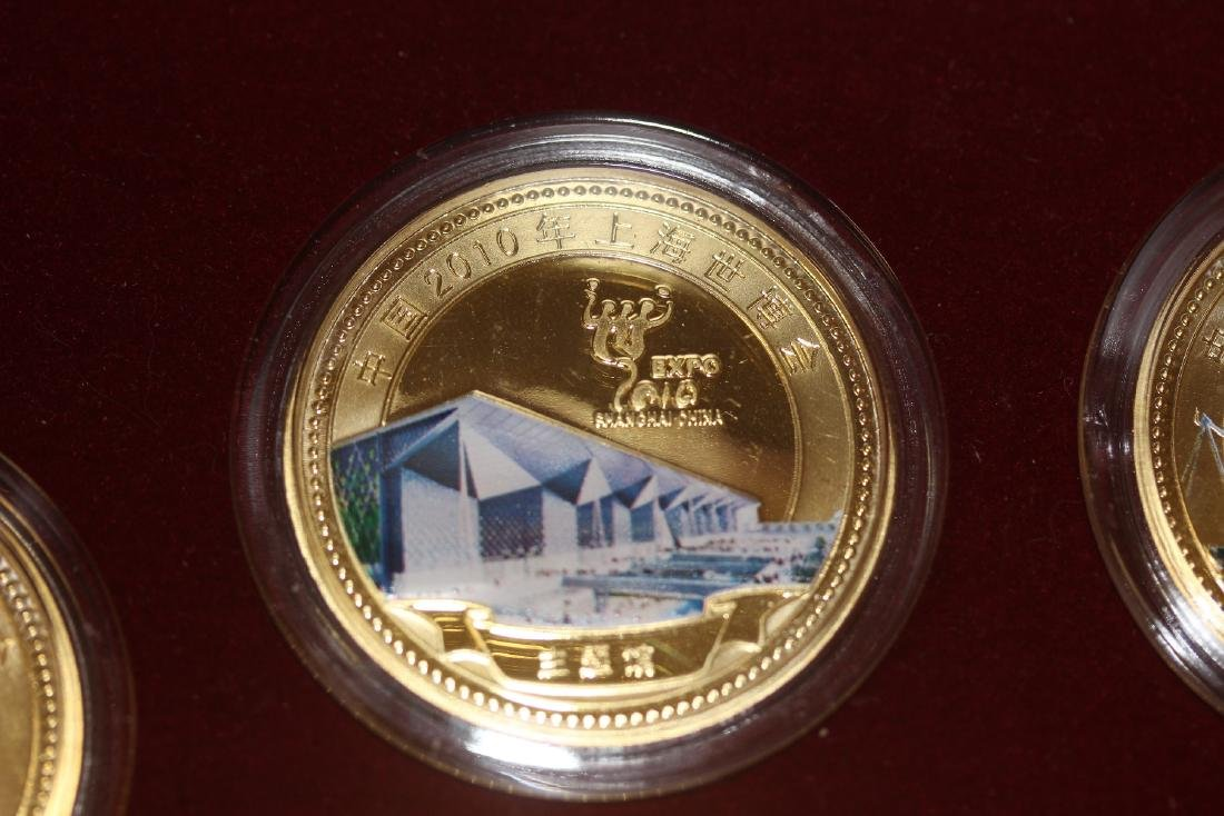 A Chinese 2010 Expo Coin Set - 3