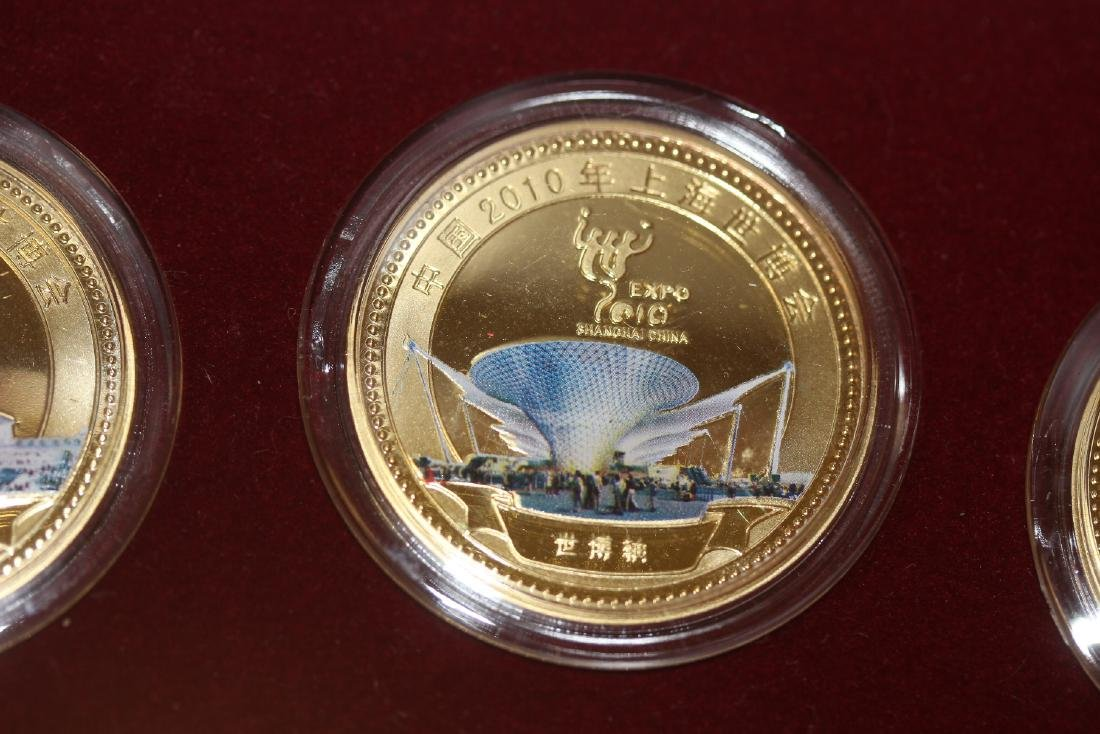 A Chinese 2010 Expo Coin Set - 4