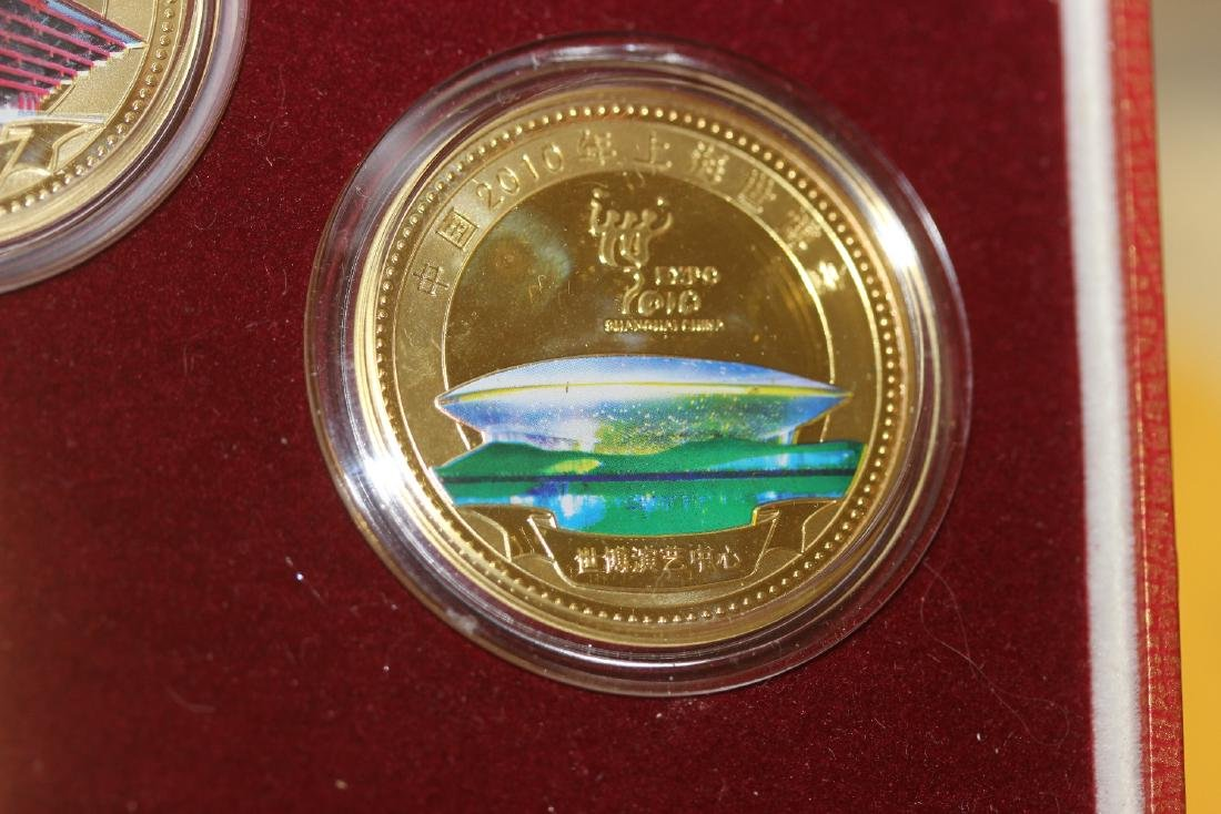 A Chinese 2010 Expo Coin Set - 6