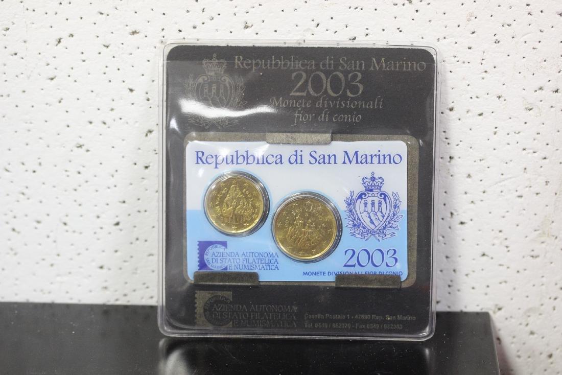 San Marino Coin Set