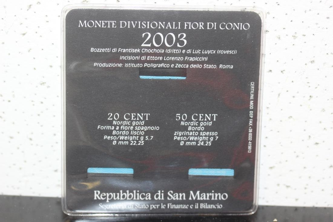 San Marino Coin Set - 2