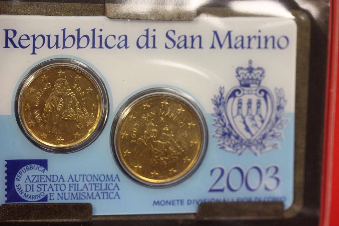 San Marino Coin Set - 3