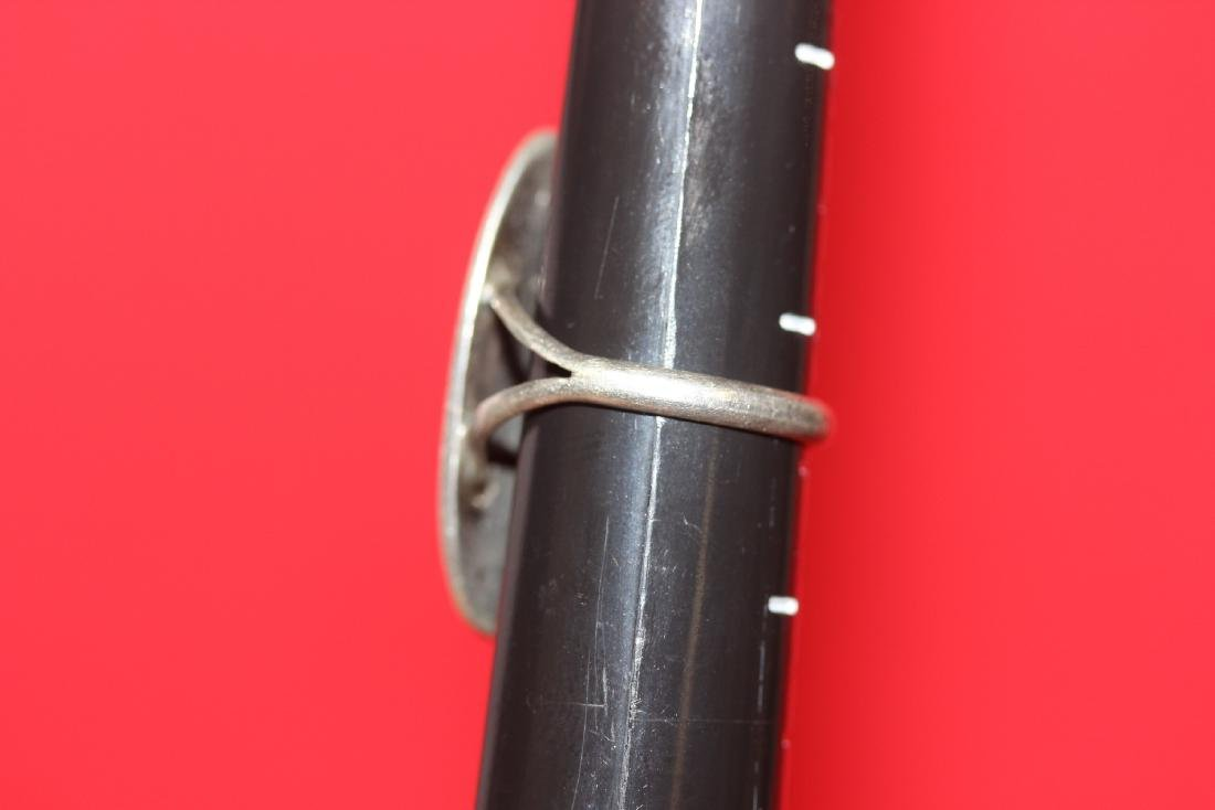 An Inlaid Native American Sterling Ring - 3