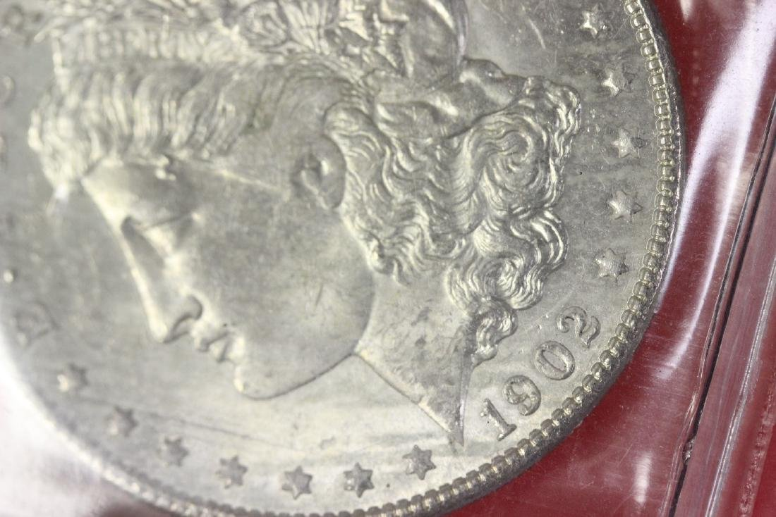A 1902-O Morgan Silver Dollar - 4