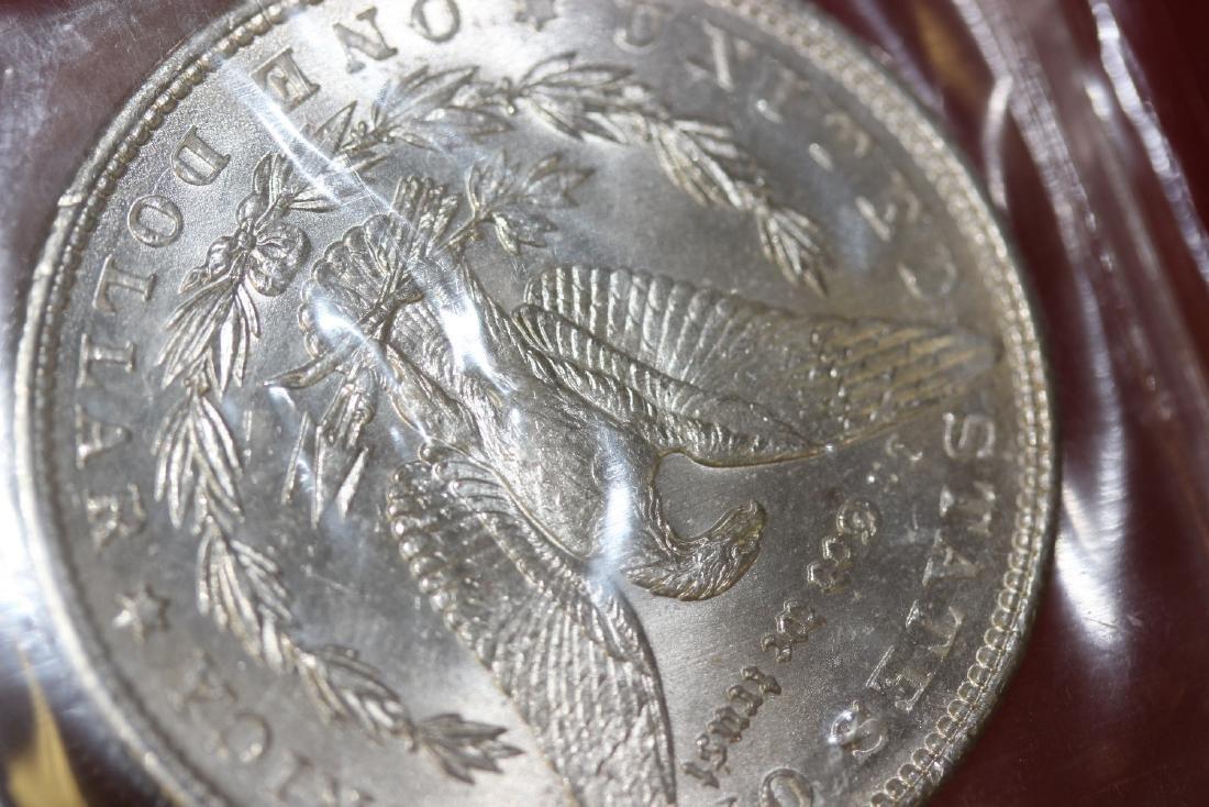 An 1888 P Morgan Silver Dollar - 4