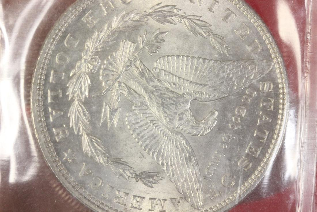 An 1885 P Morgan Silver Dollar - 5