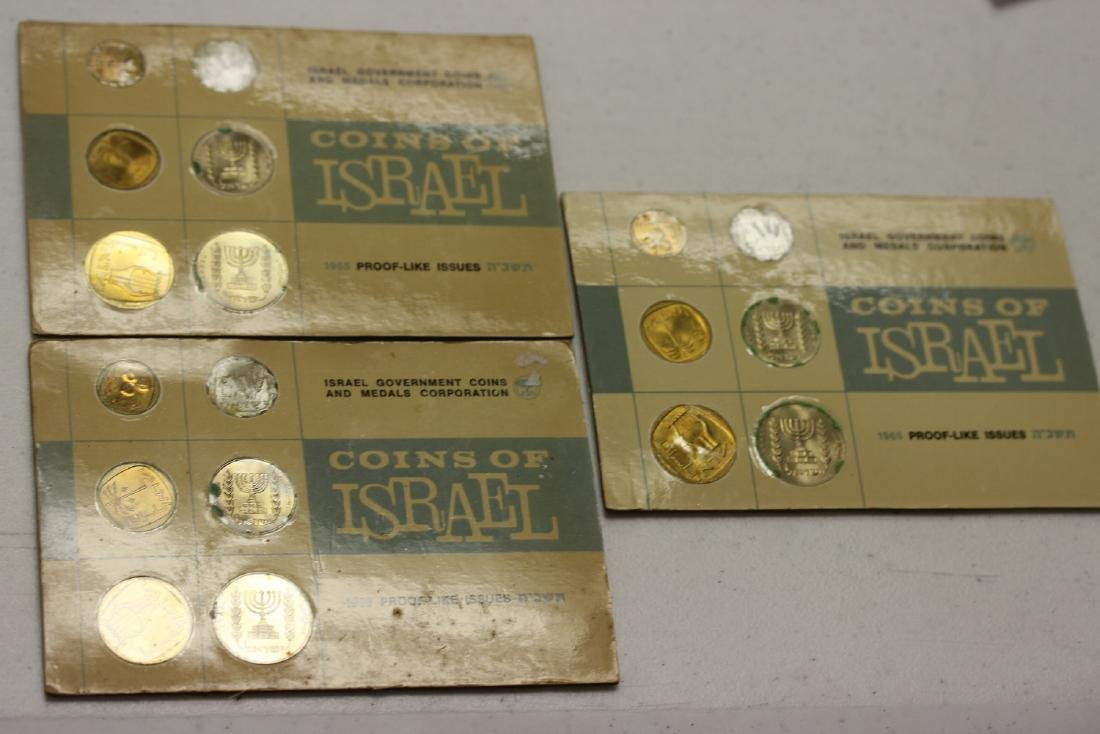 3 Coins of Israel Coin Set