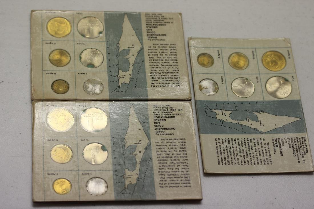 3 Coins of Israel Coin Set - 2
