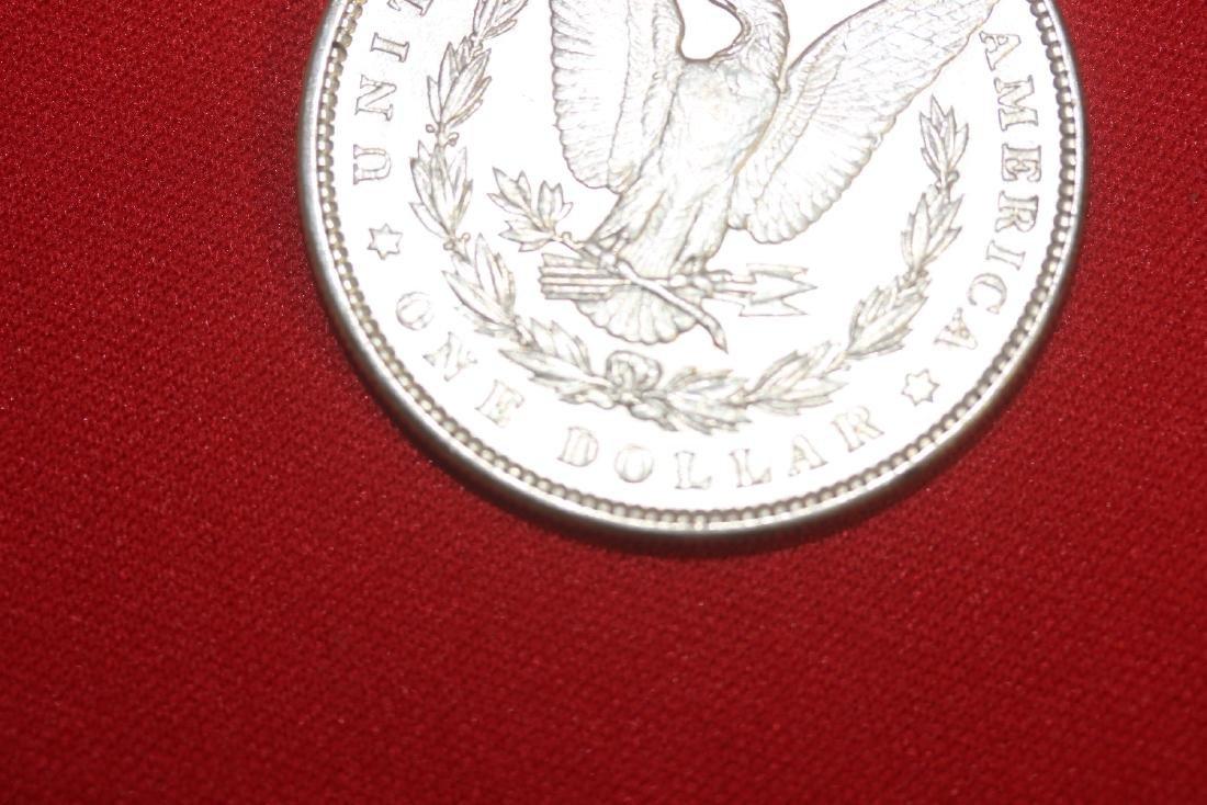An 1889 Morgan Silver Dollar - 3