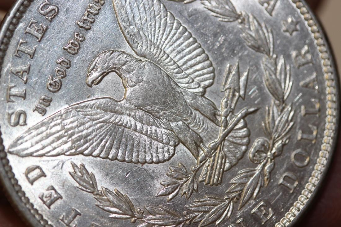 An 1889 Morgan Silver Dollar - 4