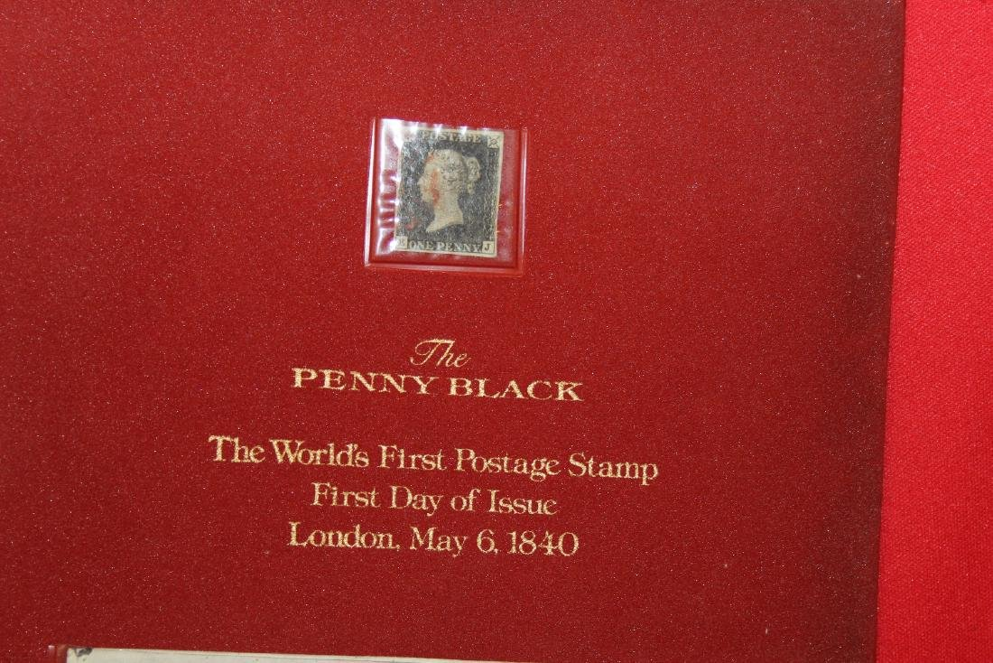The World's First Postage Stamp - 2