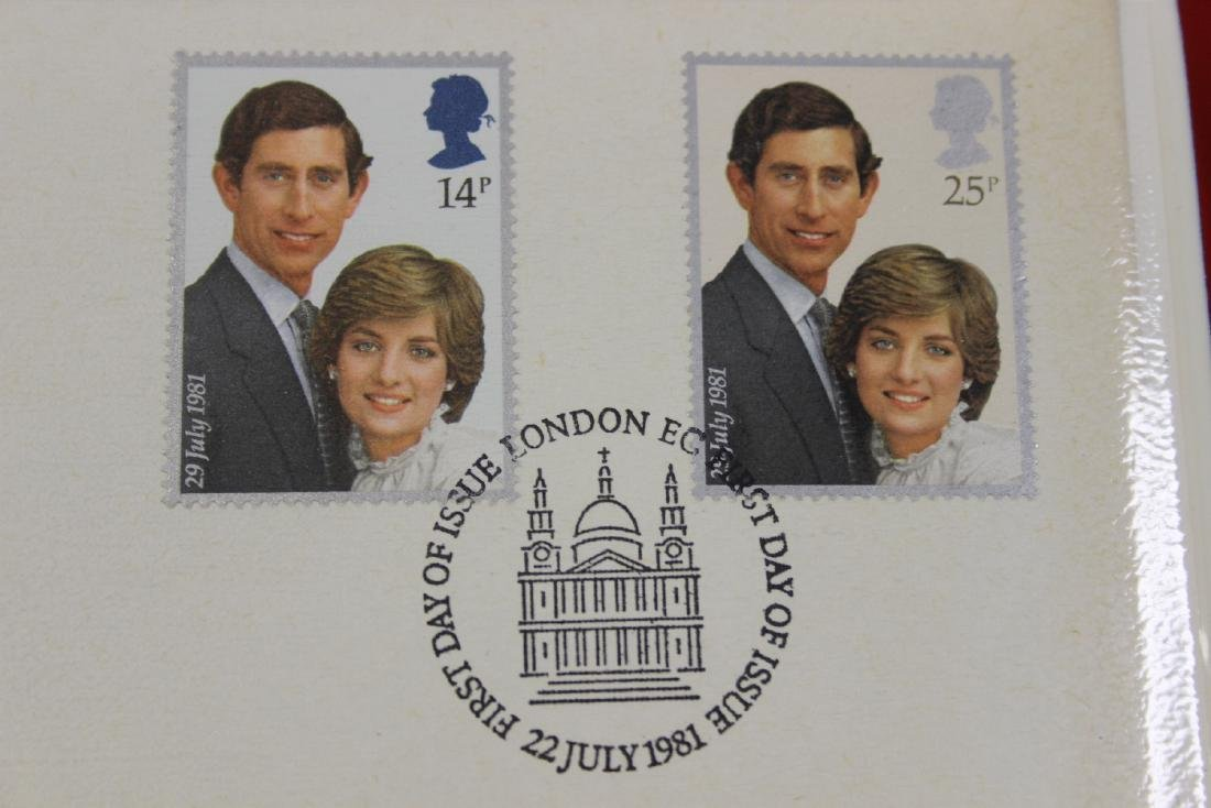 first Day Cover of the British Stamps - 4