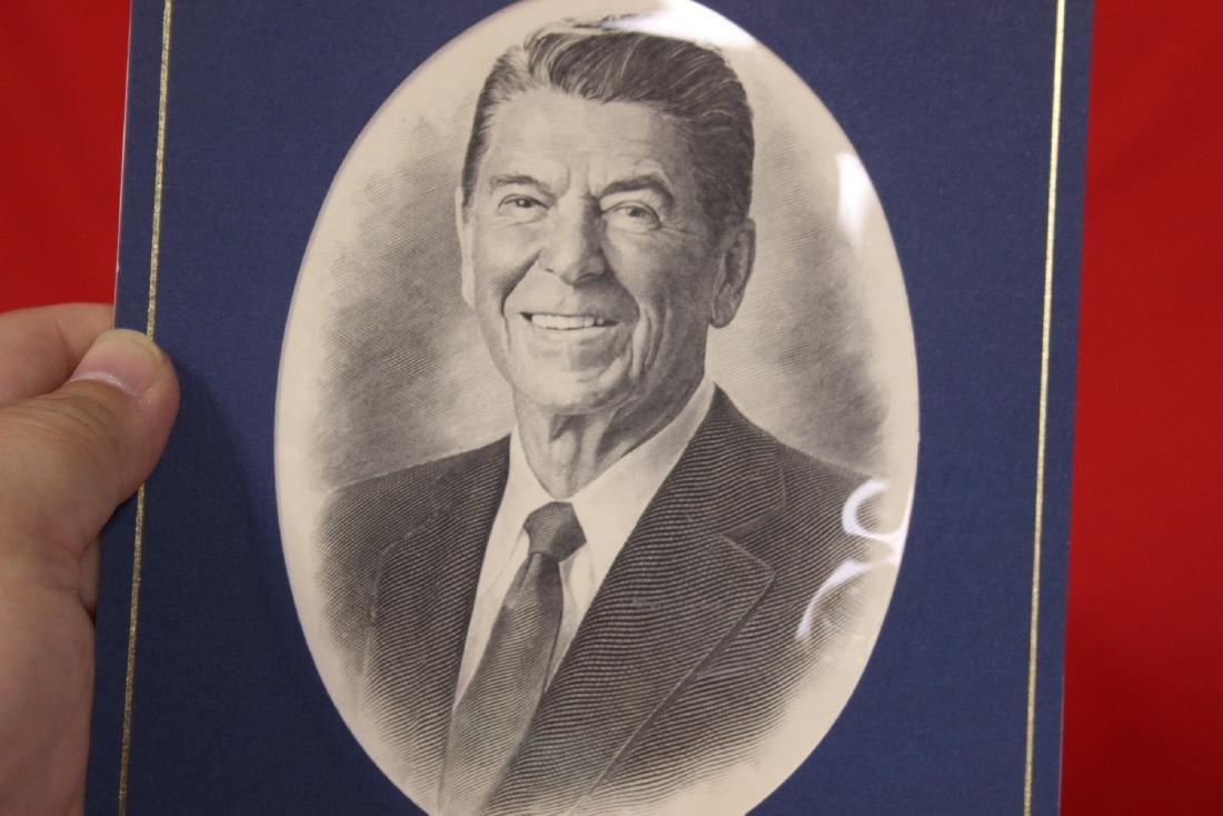 Ronald Reagan Stamp and Coin Set - 5