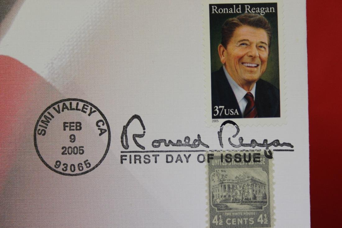 Ronald Reagan Stamp and Coin Set - 3