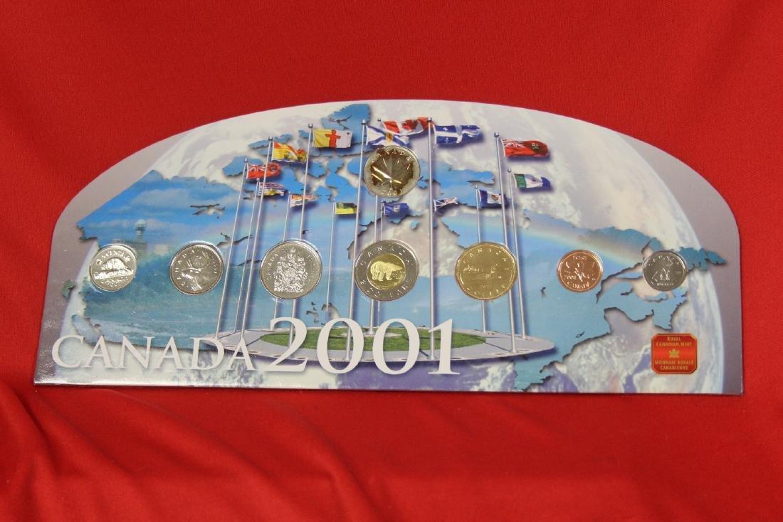 RCM Canada 2001 Coin Set