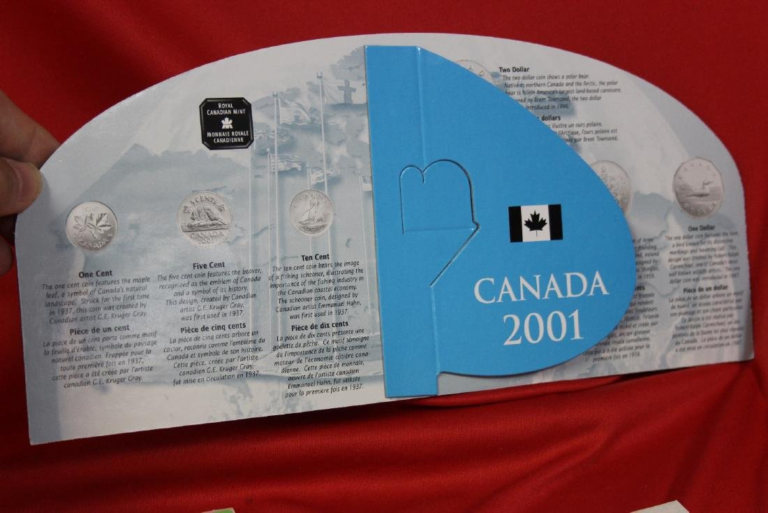 RCM Canada 2001 Coin Set - 2