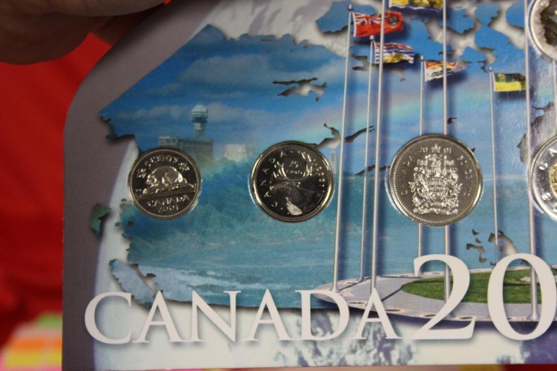 RCM Canada 2001 Coin Set - 3
