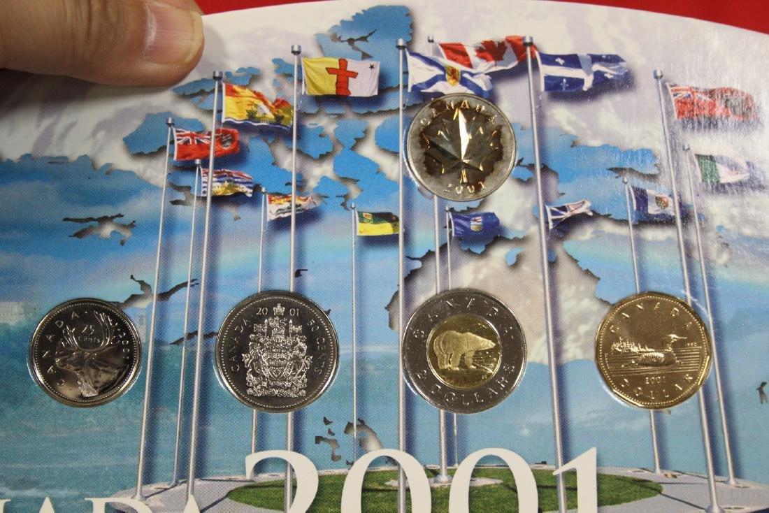 RCM Canada 2001 Coin Set - 4