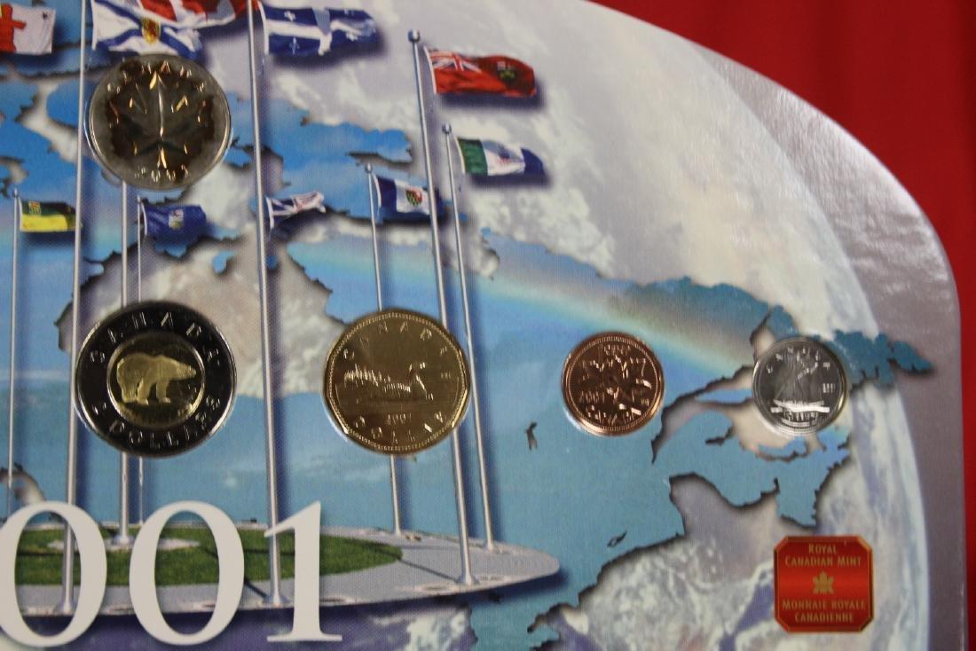 RCM Canada 2001 Coin Set - 5