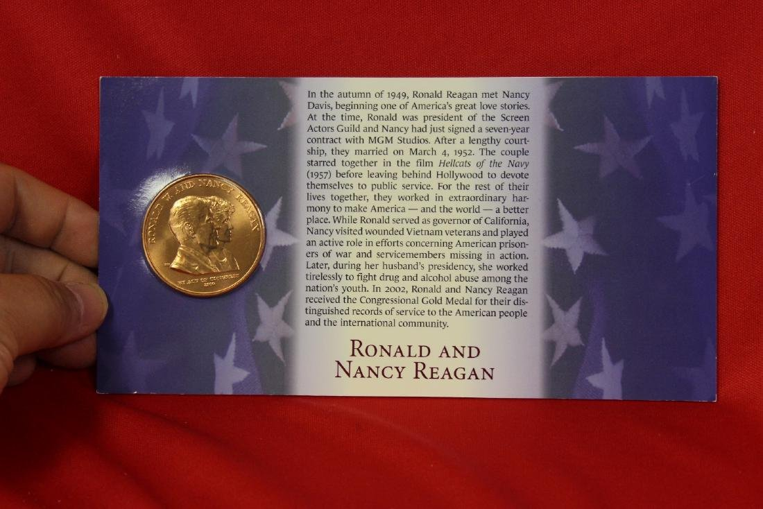 Ronald and Nancy Reagan Commemorative Coin