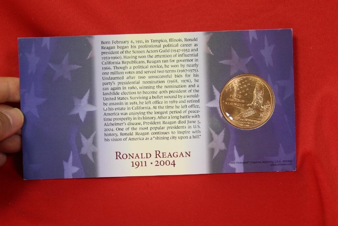 Ronald and Nancy Reagan Commemorative Coin - 2