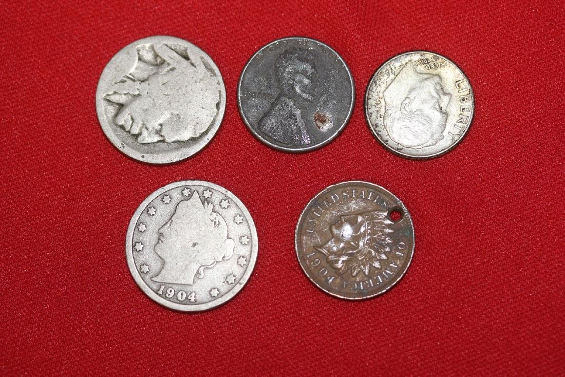 Lot of 4 US Vintage/Antique Coins