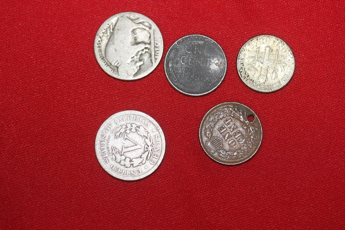 Lot of 4 US Vintage/Antique Coins - 2