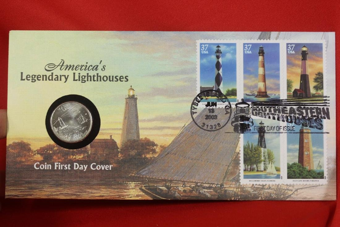 America's Legendary Lighthouses Coin