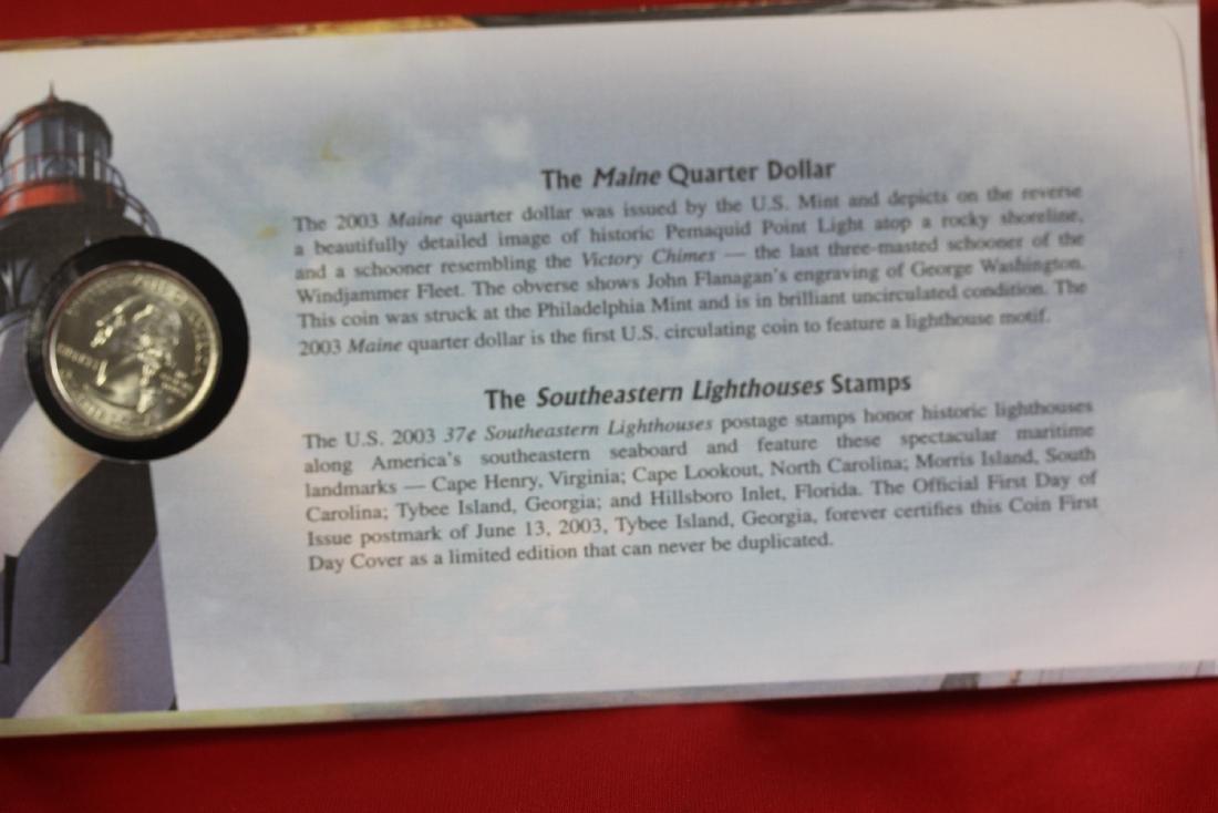 America's Legendary Lighthouses Coin - 2