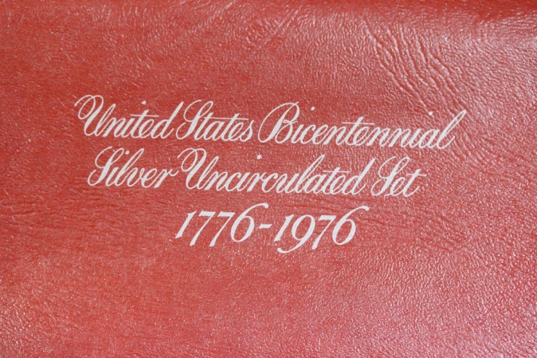 US Bicentennial Silver Uncirculated Set - 2