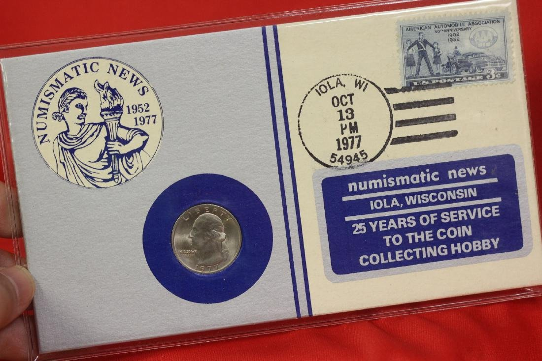Numismatic News Coin and Stamp Set