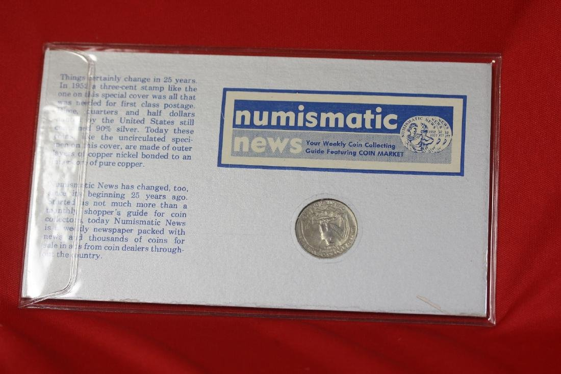 Numismatic News Coin and Stamp Set - 2