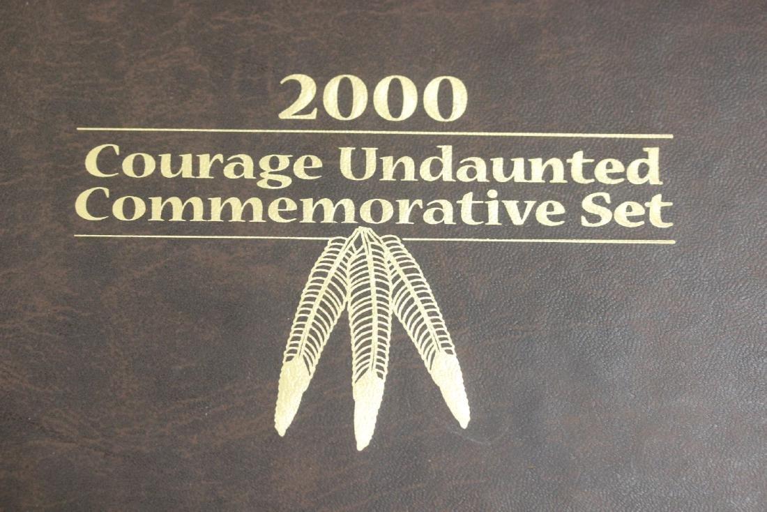 2000 Courage Undaunted Commeorative Set