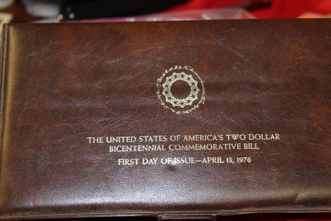 The US of America's Two Dollar Bicentennial Bill - 3