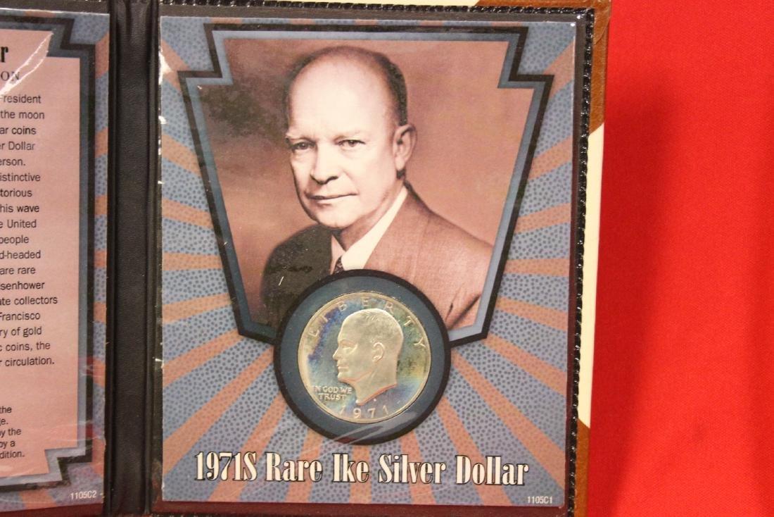 A 1971-S Rare Ike Silver Dollar