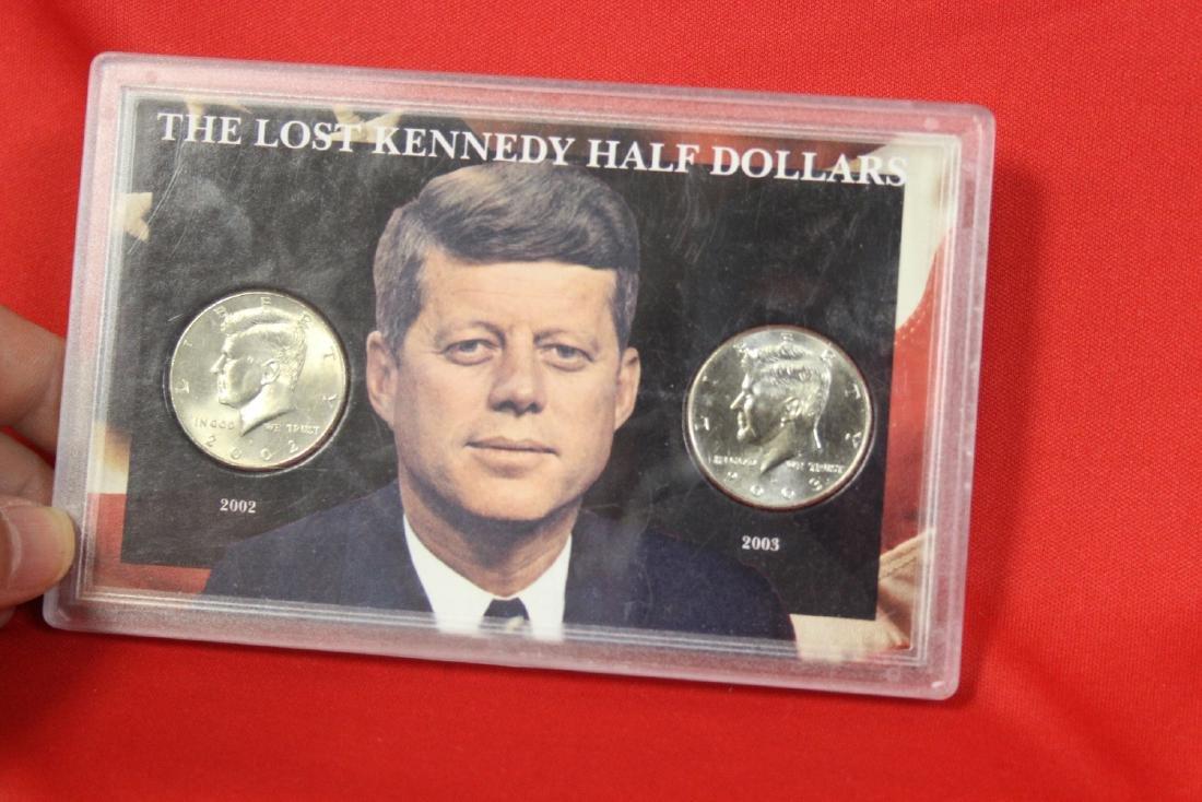 The Lost Kennedy Half Dollars