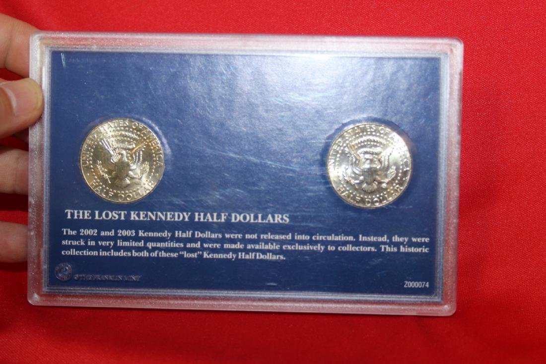 The Lost Kennedy Half Dollars - 2