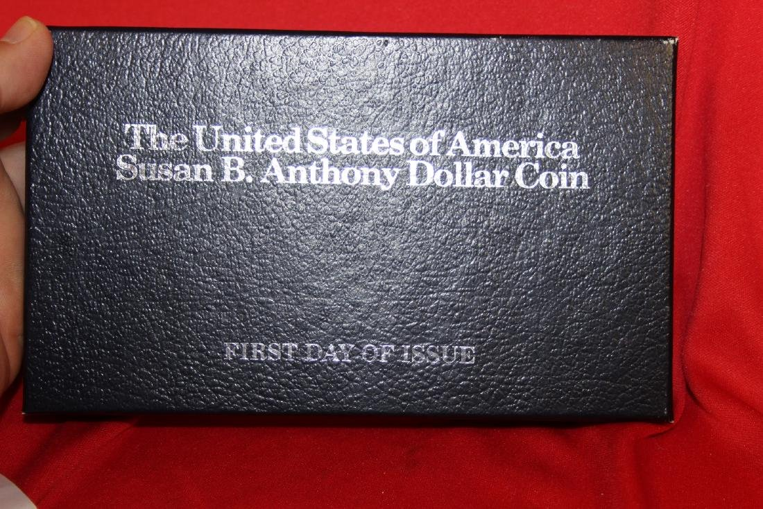 The US of America Susan B. Anthony Dollar coin