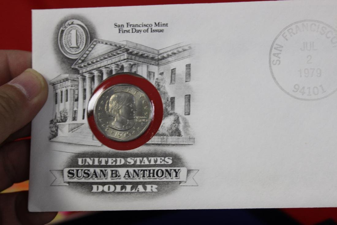 The US of America Susan B. Anthony Dollar coin - 2