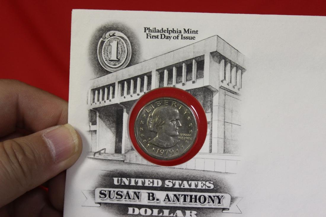 The US of America Susan B. Anthony Dollar coin - 4